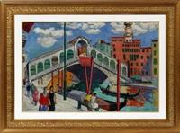 venetian scene by richard ziegler