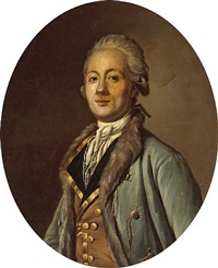 a portrait of a gentleman, half-length by antoine vestier
