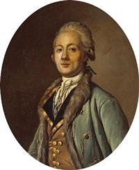 a portrait of a gentleman, half-length by antoine vestier