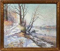 winter landscape by elizabeth fisher washington
