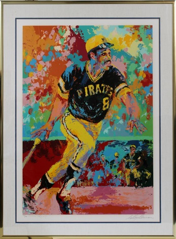 willie stargell by leroy neiman