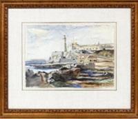 lighthouse by reginald marsh