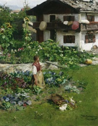 im garten by wilhelm (the younger) rögge