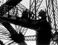 eiffel tower, paris by ilse bing