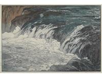 keiryu (rapids) by hiroshi yoshida