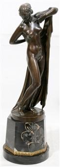 female nude by ferdinand lepcke