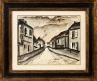 street scene by maurice de vlaminck