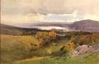 windermere, english lakes by arthur tucker