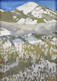 taosberget by akseli valdemar gallen-kallela