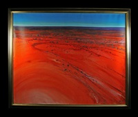 central australian landscape by piers bateman