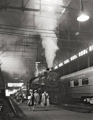 chicago dearborn station by andreas feininger