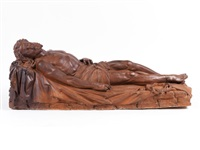 christus-corpus auf dem grabtuch liegend (cristo da processione) by alessandro algardi (l'algarde)