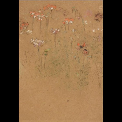 study of poppies by james abbott mcneill whistler