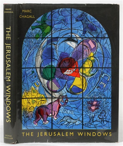 jerusalem windows 2 works by marc chagall