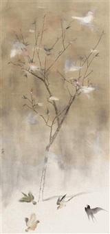 花鸟 by tu shaohui