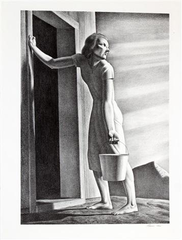 good bye day by rockwell kent