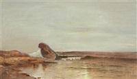 seascape, long island by william huston