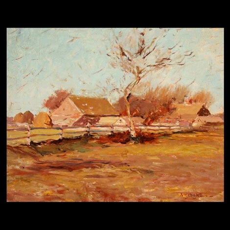 john dickerson farm looking west by william john whittemore