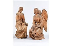 engelsfiguren (pair) by agostino di duccio