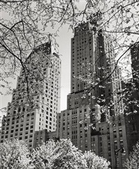 n.y. - central park south by andreas feininger