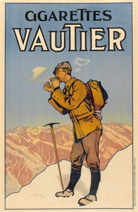 cigarettes vautier by edmond bille