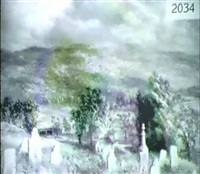 landscape with cemetary by constance coleman richardson