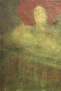 oil on canvas laid on board by ambrose mcevoy
