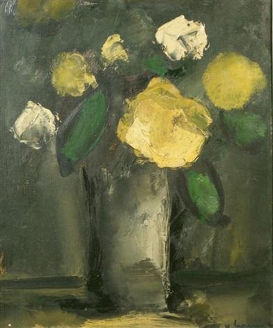 stillife with flowers by johan hendrik van ieperen