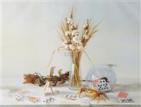 静·物ⅰ (still life) by huang kunbo