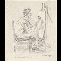 portrait of walter tittle (the illustrator) by edward hopper