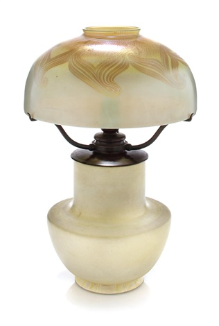table lamp by louis comfort tiffany