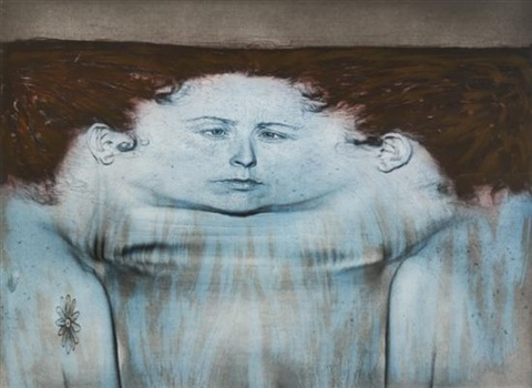 my blue lake by kiki smith