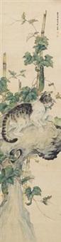 猫 by liu kuiling