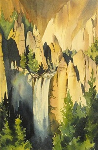 tower falls by betty saarni