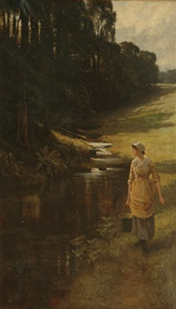a woodland stroll by samuel reid