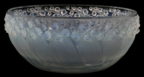 lalique crystal centerpiece bowl dia 9