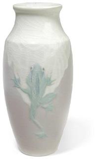 frog vase by j. d. wareham