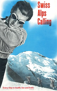 swiss alps calling, every step is health, fun and frolic by hans aeschbach