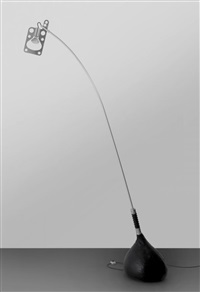 Una lampada da terra 'Bul-bo', 1969–1970