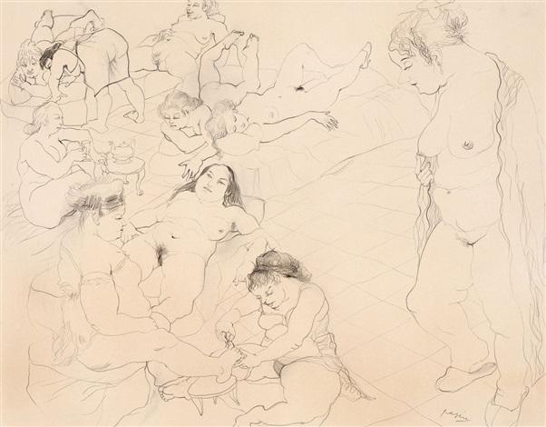 weibliche akte by jules pascin