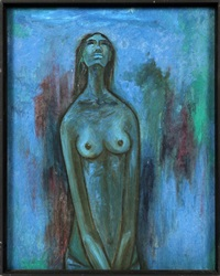 nude female by b. prabha