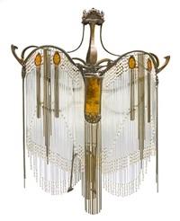 Hector guimard artnet page 9 an art nouveau style rod chandelier aloadofball Image collections