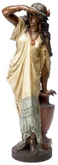 an indian maiden by oskar gladenbeck