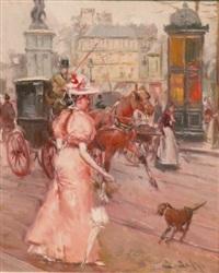 woman in paris by juan puig soler