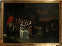 genre scene by david ryckaert iii