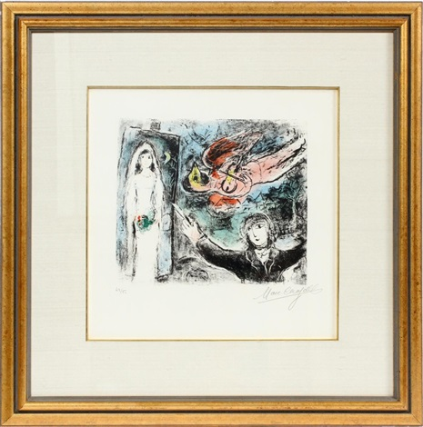 LA PETITE MARIEE by Marc Chagall on artnet