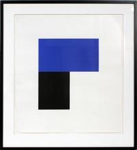 chatham iii black blue by ellsworth kelly