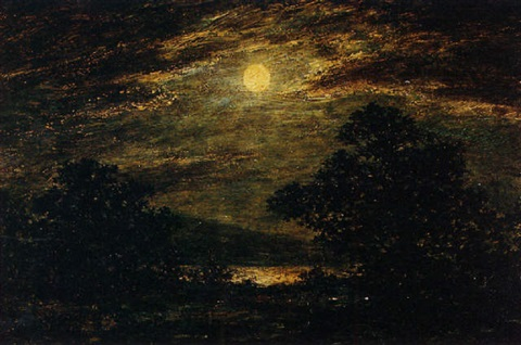 moonlight by clarence l. blakelock