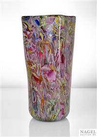 ungewöhnlich große vase by avem (arte vetraria muranese)
