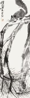 松鼠 by qi baishi